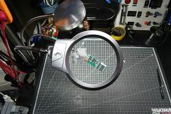 [DIY] 납땜보조기구 만들기 - 드레멜 거치대,  5V  LED모듈, 돋보기, 써드핸드 합체!!