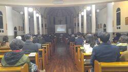3/8(목) 서산 동문동 성당에서 10주 과정 사회교리학교 개막
