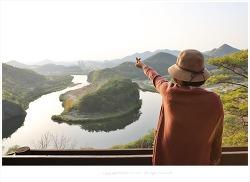 [영월여행] 영월10경 선암마을 한반도지형 전망대에서~