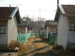 동해 동부사택, 일제강점기 시절에 조성된 사택 마을이 연변과 닮아서 특이한 곳