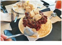 헤이리 르시랑스- 베이커리와 팥빙수가 맛있는 고가구 박물관 카페