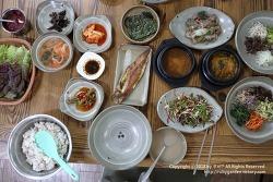 경주 맛집 / 남산 포석정,삼릉 맛집 / 토속보리밥정식이 깔끔한 경주 부성식당