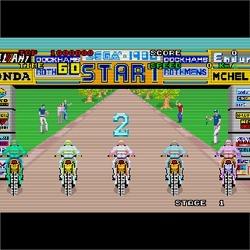 오락실게임, 엔듀로 레이서(Enduro Racer) 오토바이 경주 (MAME ROM 포함)