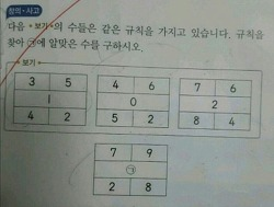 요즘 초등학교 3학년 시험문제