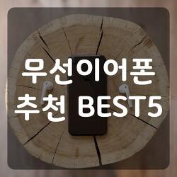 삶의 질을 올려주는 가성비 무선 이어폰 추천 BEST5 (Feat. 아콘, 브리츠, AONE, ziniQ)