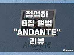 정성하 8집 핑거스타일 앨범 안단테(ANDANTE) 리뷰