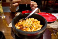 [마카오] 베네시안 호텔 음식점 중국식 '북방관(North)' 볶음밥과 새우튀김 마파두부 딤섬