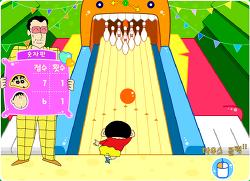 짱구교실 신나는 볼링 놀이 플래시게임