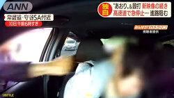 이것도 상상이상- 일본의 위협 운전+폭행범 체포