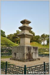 경북 경주 서악동 삼층석탑 보물 제65호