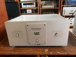 POWERTEK PAV-5000 중기형 5k AVR 전압장치 입니다 -극상품-