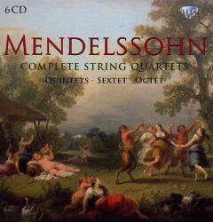 [전집] Mendelssohn Complete String Quartets, Quintets, Sextet, Octet