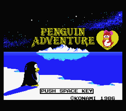 Penguin Adventure Disk
