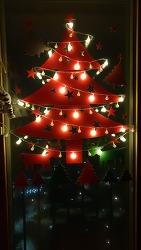 크리스마스 벽트리