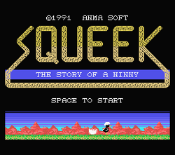 Squeek: The Story of a Ninny