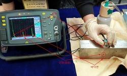 비파괴 검사 - 초음파 반사를 통한 간접측정