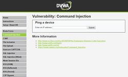 [모의해킹] Command Injection 실습하기 - DVWA Command Injection