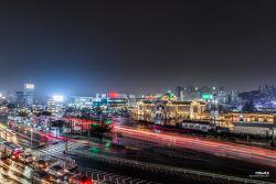 비 그친 서울역