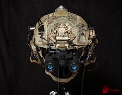 [Helmet] 75th RANGER 2015~2017 Helmet setup.