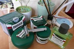 이탈리아 면도크림 프로라소 사용기 클래식면도기 파커에 어울린다
