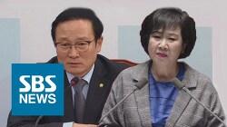왜 손혜원은 홍영표와 공동 기자회견을 할까?