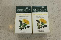 인도 화장품 바이오티크 Biotique 민들레 크림 세럼 공병후기