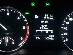 더 뉴 아반떼 주행거리 30,000km 돌파!