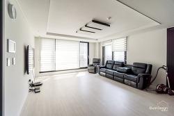 수원 정자동 34평아파트 부분 리모델링[마루 도배 필름시공등]