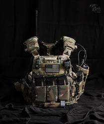 [Vest] 75th RANGER AVS setup.