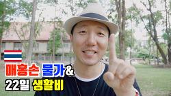 🇹🇭매홍손 | 현지물가와 생활비 (feat.치앙마이, 빠이와 비교 설명)