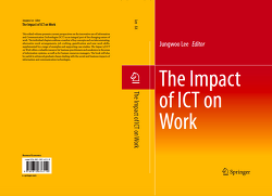 [Book Chapter]Work Design Characteristics of Mobile-Intensive Workers: Implications for Future Work Design