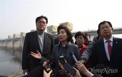 보 철거가 우파해체?..한국당에게 양심이란?