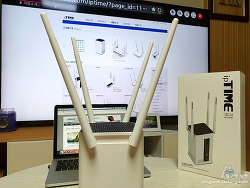 인텔공유기 ipTIME A8004ITL과 일반 기가와이파이 무선공유기의 특징 비교하다 기생충 속 아이피타임 생각에 피식