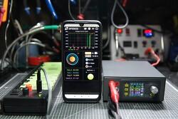 알리발 50V/20A DC 디지탈 파워서플라이 컨트롤러 - DPS5020 조립 및 USB와 블루투스 모듈 같이 사용하기 개조
