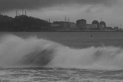 [사진] 태풍에 멈춘 핵발전소