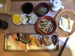 홍대 초밥 맛집 박용석스시 점심메뉴 솔직 후기