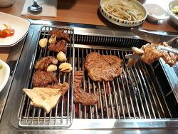 옥산오창 홈페이지제작 (수정 리뉴얼)후 신영금형대표님과 점심식사로 오창맛집 황소고집 후기