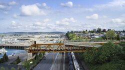 위싱턴 에버렛 그랜드 애비뉴 보행교 VIDEO: Everett Grand Avenue Pedestrian Bridge in Washington