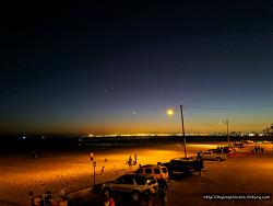 LA가볼만한곳, 캘리포니아 숨은 밤바다 야경 명소, Seal Beach(실비치)