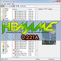 HBMAME(홈브류) Emulator 0.221A Download