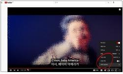 유튜브 자막 번역해 듀얼 자막으로 보는 방법(PC)