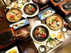 유후인 호테이야 료칸의 가이세키 _ 맛있는 일본의 코즈 요리 후기