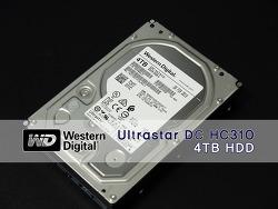 안정성과 속도 모두 만족! WD Ultrastar DC HC310 필드테스트 #1