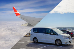 오키나와 항공권 & 오키나와 렌트카 :  티웨이 항공 타고 오키나와 고고씽! 저렴한 오키나와 SKY 렌트카 8인승 승합차 대여하기 / 일본 입국신고서