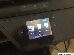 HP 8600 복합기 액정화면 수리(백화현상)