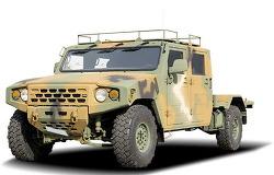 기아자동차의 1톤 봉고3 파워게이트 모델을 4.2인치 박격포 발사차로 개조하면?/ 마이티 2.5톤은?/ 소형전술차량은?