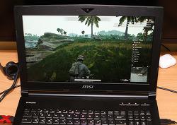 MSI 게이밍노트북 GT시리즈 GT63 Titan 8SF 리뷰 배틀그라운드 게임