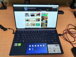 ASUS New 젠북 14 UX434 i7-10510U 더 커진화면 스크린패드2.0까지