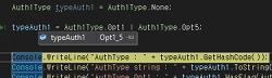 [.NET] 열거형 맴버(enum)의 플래그(Flags)와 비트(bit) 연산