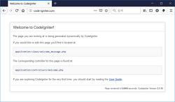 [CodeIgniter] 리눅스 환경에 코드이그나이터 세팅하기